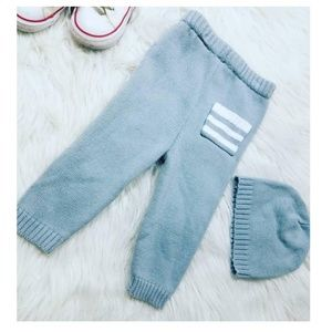 Other - Knit sweatpants and matching hat